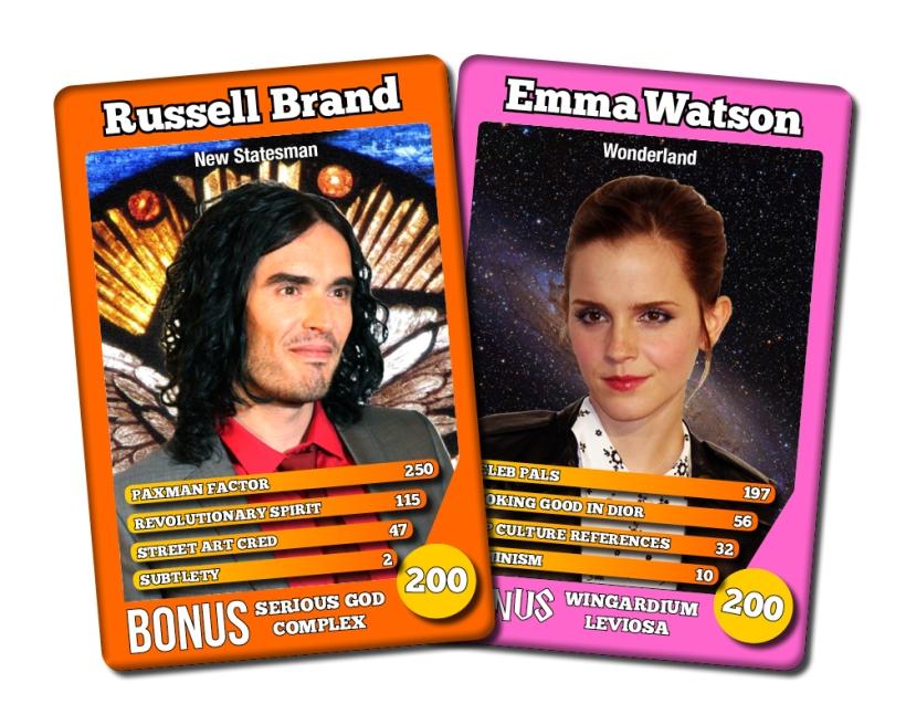 Guest Editors Emma Watson Russell Brand