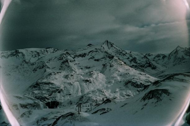 Tignes mountain